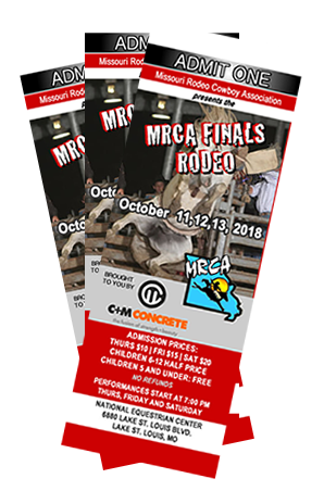 Buy Your MRCA Rodeo Finals tickets